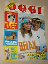 OGGI=1985/33=DANTE GIACOSA TOPOLINO=REMO BRINDISI=PATTY PRAVO=TEARDO ALBERTO=