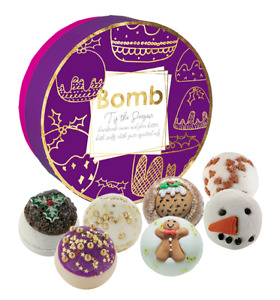 T'is the Season Geschenk Set Bomb Cosmetics Badekugel X-Mas Weihnachten