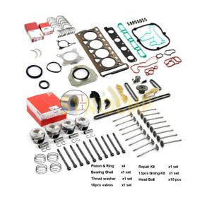 Engine Rebuild Kit For VW GTI Audi A4 A5 Q5 2.0T 1.8T CDNC CCZA CCTA 21mm Pin