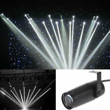 10W Mini LED White Stage Lighting Beam Pinspot Spot Light DJ Disco Club