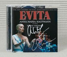 Evita von Anna Maria Kaufmann (Deutsche Version 2005) CD, Original signiert !!