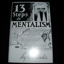 13 (Thirteen) Steps To Mentalism by Corinda Superb Mentalism Hardback Book!
