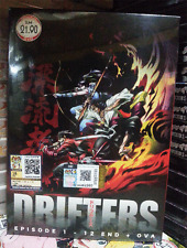 ANIME DVD Drifters Complete Boxset Vol.1-12 End + OVA English Subs + FREE ANIME