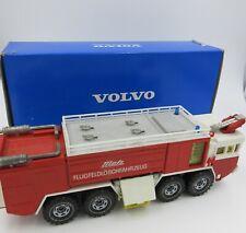 VOLVO F12 6x6 INTERCOOLER FIRE CRASH TENDER  diecast FIRE TRUCK  West Germany