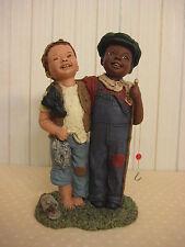 "1993 Miss Martha Holcombe God Is Love Simon & Andrew Figurine, 5 1/2"" T X 3"" W"