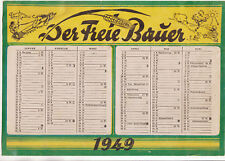 Calendario 1949 Il Freie Contadino! (D7