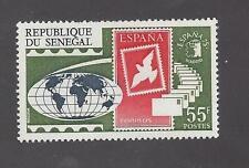 SENEGAL -  410 - 411 - MNH - 1975 - STAMP EXPO MADRID AND PARIS