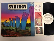 SYNERGY LP: Electronic Realizations For Rock Orchestra,1975 Passport Promo, Moog