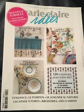 MARIE CLAIRE IDEES N°121 JUILLET-AOUT 2017 Broderie / Deco Jardin