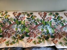New listing 3+ Yd Kandell Everglaze Chintz Fabric Pine Cones Florals