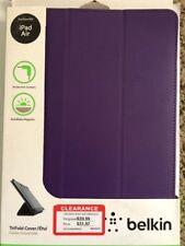 Belkin TriFold Cover / Case for iPad Air (Purple)