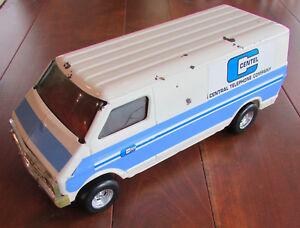 Vintage ERTL Dodge Utility Work Van Diecast CENTEL Central Telephone Company