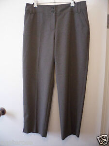 BROWN SUGAR BRAND NEW TROUSERS PANTS SIZE 11 OLIVE POLYESTER