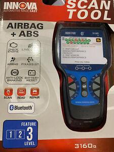INNOVA Color w/ Bluetooth 3160g Code Reader/Scan Tool w/ ABS, NIB.