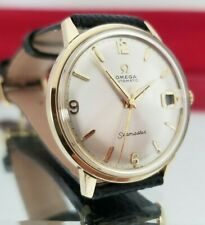 1963 Omega Seamaster Automatic Wristwatch.Nice Watch!Free Ship!