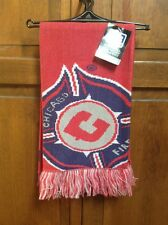 Adidas MLS Chicago Fire Supporter Fan Scarf Officially Licensed NWT New S174Z