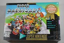 Super Mario Kart Player's Choice PC Super Nintendo SNES NEW Factory Sealed #B2