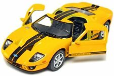 "Kinsmart 5"" 2006 Ford GT Diecast Model Toy Car 1:36 New - Yellow"