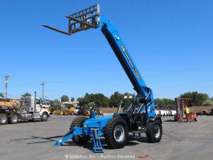 2014 Genie GTH-1056 56' 10,000 lbs Telescopic Reach Forklift Telehandler bidadoo
