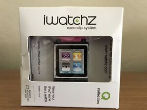 iWatchz Nano Clip System - Pink- iPod Nano 6th Gen 8GB 16GB