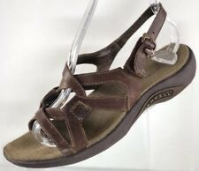 c25f975d16d2  90 Merrell Agave Women s Size 7 Brown Lavish Strappy Leather   Neoprene  Sandals