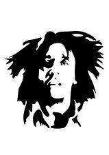 Alto detalle Bob Marley aerógrafo de plantilla libre UK FRANQUEO