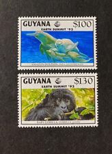 GUYANA    Beautiful  Mint  NEVER  Hinged  WILDLIFE  Issues  AG
