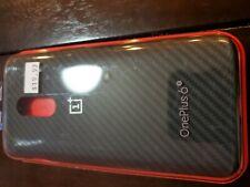 #1097  OnePlus 6T  - Vader Karbon Bumper Case in Black  - Evutec