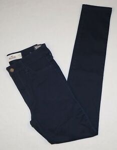 New Hollister Women's Ultimate High Rise Jegging Pants Size 0R w24 L29