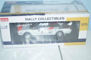 SunStar Audi Quattro A2 winner rally argentina 1983 h.mikkola / a.hertz 1:18 ...
