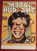 Carte postale MÉTAL HURLANT. Couverture du N° 50 .- neuf