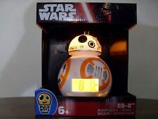 "Star Wars BB-8 Bulb Botz 7.5"" Light Up Digital Alarm Clock 2020503"