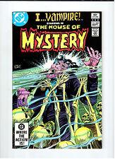 Dc I Vampire in House Of Mystery #308 Sept 1982 Nm vintage comic Joe Kubert