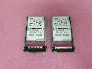 "LOT of Hitachi HUC109090CSS600 Hard Drive 900GB SAS 2.5"" HDD 0B26014 w/ Tray"