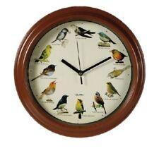 Reloj de Pared melodía sonido de pájaros, esfera de plástico 33 cm