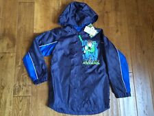 NWT NEXT BEN 10 SHOWER RESISTANT FOLDAWAY RAIN COAT - 9 YEARS