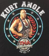 Kurt Angle Hall Of Fame Medium T Shirt TNA Wwe Wwf New
