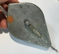 VINTAGE RARE STRAIT LINE PRODUCTS CHALK LINE PLUMBS USA MESA CALIF.