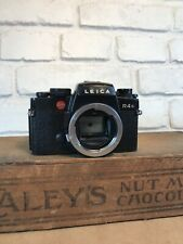 Leica R4S Black 35mm SLR Film Camera Body Japan