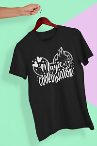 Magic Co-ordinator T-Shirt - Disney Mickey Holiday Cinderella Castle Summer Hot