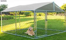 Vuyuyu Heavy Duty Dog Cage Outdoor Pet Playpen Wire Kennel