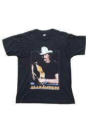 "alan jackson vintage 1991 t shirt size large ""dont rock the jukebox""  90's"