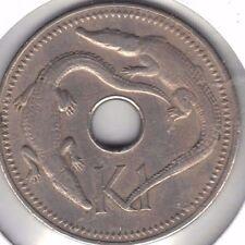 PAPUA NEW GUINEA 1975  ONE KINA COIN
