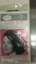 Vintage Hair Nets / Wave Nets! Unique old hard to find retro items! NICE!