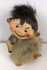 Vintage Bradley Exclusives Japan Rabbit Hair Cavemen Figurine