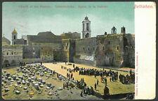 1908 AUSTRIA Postcard Circulated Cancel JERUSALEM - BETHLEHEM Church of Nativity