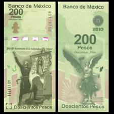 Mexico 200 Pesos, 2008, P-129, 200th COMM., UNC