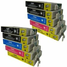 10 CiberDirect T1291 T1292 T1293 T1294 Ink Cartridges to fit Epson Printers