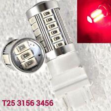T25 3156 3456 33 samsung LED Red Bulb Reverse Backup Light M1 For Buick Maz MA