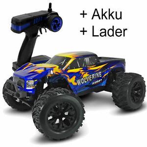 Monster Truck 1/10 Wolverine 4WD RTR  8 Stossdämpfer + Wheele Bar #  RT94701